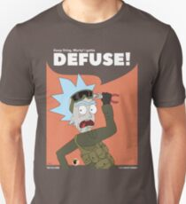 I Gotta Defuse Morty! Rick and Morty in CSGO T-Shirt