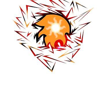 Shards of Daybreaker's Cutie Mark by Nightmarespoon