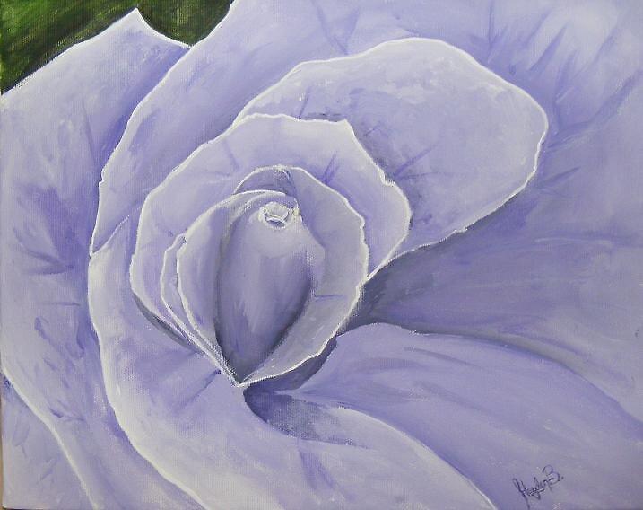 Purple Flower by Hayden Brown