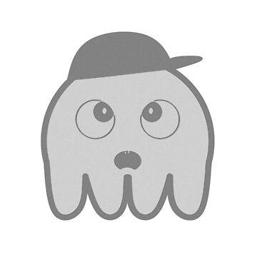 Gray Squid by untamedcow