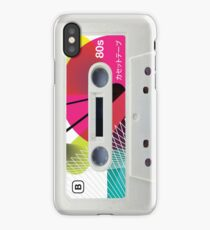 Retro Cassette Tape ~ Japanese 01 iPhone Case