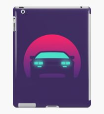 DeLorean DMC-12 - Sunset iPad Case/Skin