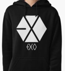 Exo Logo Pullover Hoodie