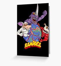 Rampage 2 Greeting Card