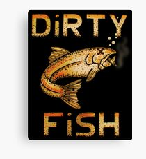 The Legendary Dirty Fish Band  Canvas Print