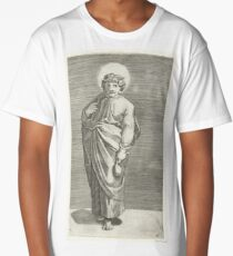 Apostle Matthew with purse, Marco Dente, after Marcantonio Raimondi, Raphael, 1517 - 1527 Long T-Shirt