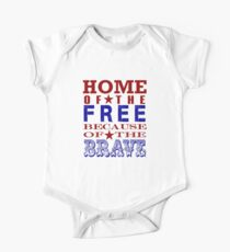 4th of july, happy independence day Kids Clothes
