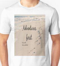 Adventures First Alice Wonderland Unisex T-Shirt