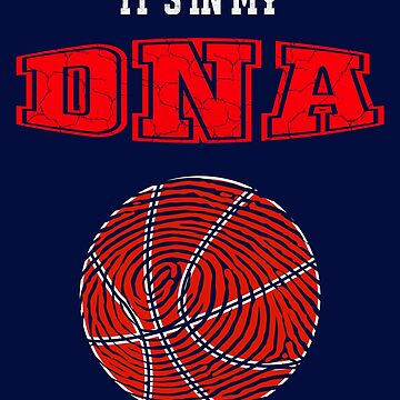 Basket DNA Shirt Funny Basketball Fan Player Shirt by niftee