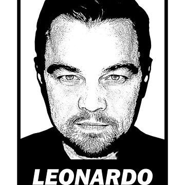 Leonardo DiCaprio - Portrait by VDKPatterns