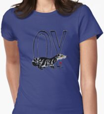 OY - Dark Tower Series - VERSION 2 (For Dark Colours) Womens Fitted T-Shirt