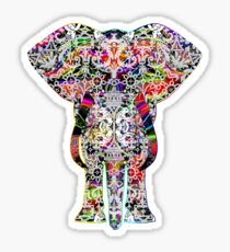 Rainbow Ganesha Sticker