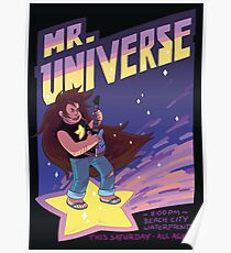 Mr Universe gig poster Poster
