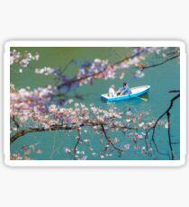 Cherry Blossoms Japan Sticker