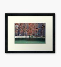 Python Pool, Millstream Chichester National Park Framed Print