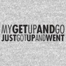 Get up and go by Barbara Glatzeder