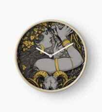THE WITCH Clock
