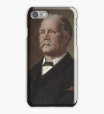 Portrait of the late John Newton, Esq., 1893, Wellington, by James Nairn iPhone Case/Skin