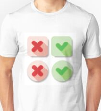 check marks T-Shirt