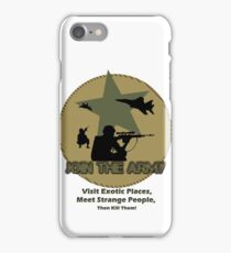 Funny Army iPhone Case/Skin