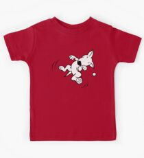 Flying English Bull Terrier  Kids Tee