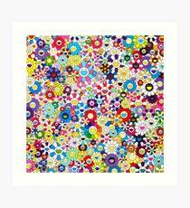 Takashi Murakami Shangri-la Shangri-la Shangri-la Art Print