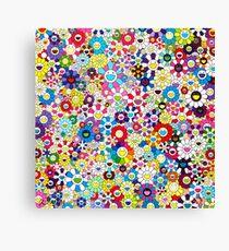 Takashi Murakami Shangri-la Shangri-la Shangri-la Canvas Print