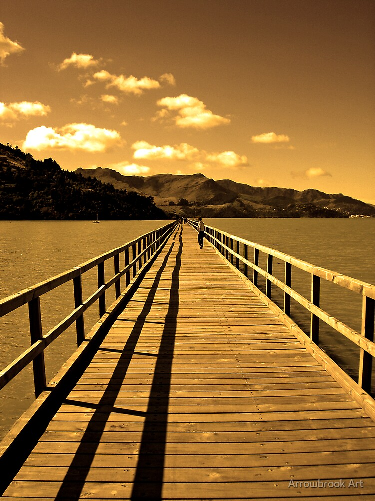 The Jetty - Governors Bay by John Brotheridge