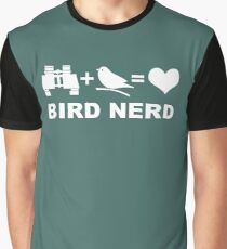 Bird Nerd Funny Birder Graphic T-Shirt