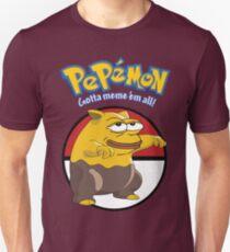 Pepémon Drowzee Pepe RARE Dank Meme Graphic  Unisex T-Shirt