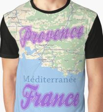 Provence France Graphic T-Shirt
