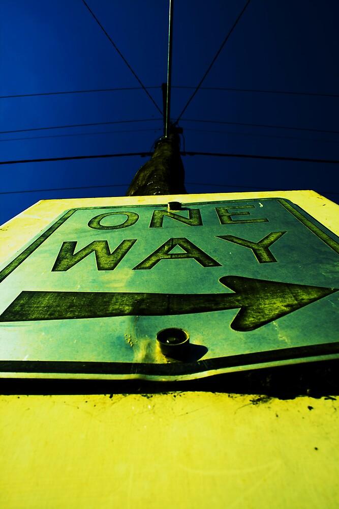 ONE WAY ---------> by Belinda Fraser