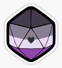 Ace Pride d20 Sticker