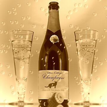 Vintage Champagne by Kit10