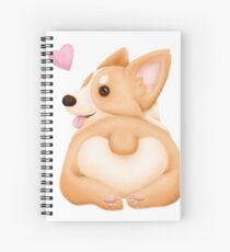 Corgi Butt Spiral Notebook
