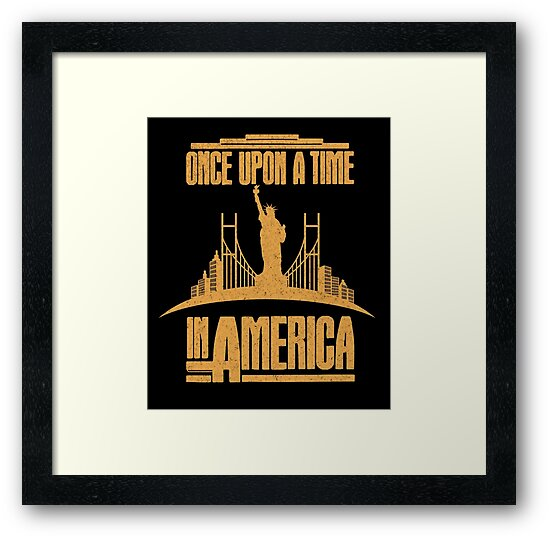 Once Upon a time in America cult movie t shirt by Dailytees