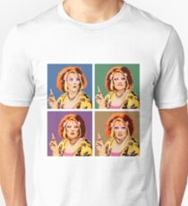 The Auburn Jerry Hall Pop Art Unisex T-Shirt