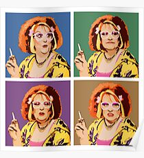 The Auburn Jerry Hall Pop Art Poster