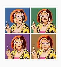 The Auburn Jerry Hall Pop Art Photographic Print