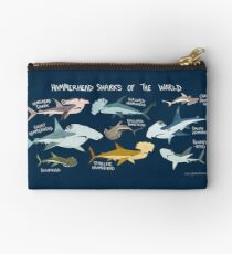Hammerhead Sharks of the World Studio Pouch