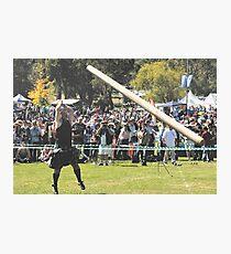 What a Tosser ! - The Caber - Brigadoon , 31st Highland Gathering, Bundanoon , NSW Australia Photographic Print