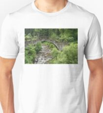 Of Mountain Creeks and Olden Bridges Unisex T-Shirt
