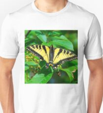 Eastern tiger swallowtail butterfly  Unisex T-Shirt