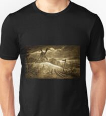 An Ancient Windmill at Swarkestone, Derbyshire 1885 T-Shirt