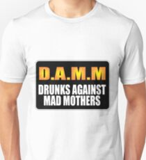 Funny Drunks Unisex T-Shirt