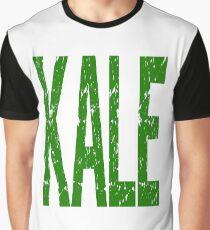 Kale Vegan Vegetarians Health Geek Funny Veggie Powered Fitness Graphic T-Shirt