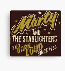 BTTF - Marty and the Starlighters  Canvas Print