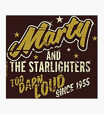 BTTF - Marty and the Starlighters  Photographic Print