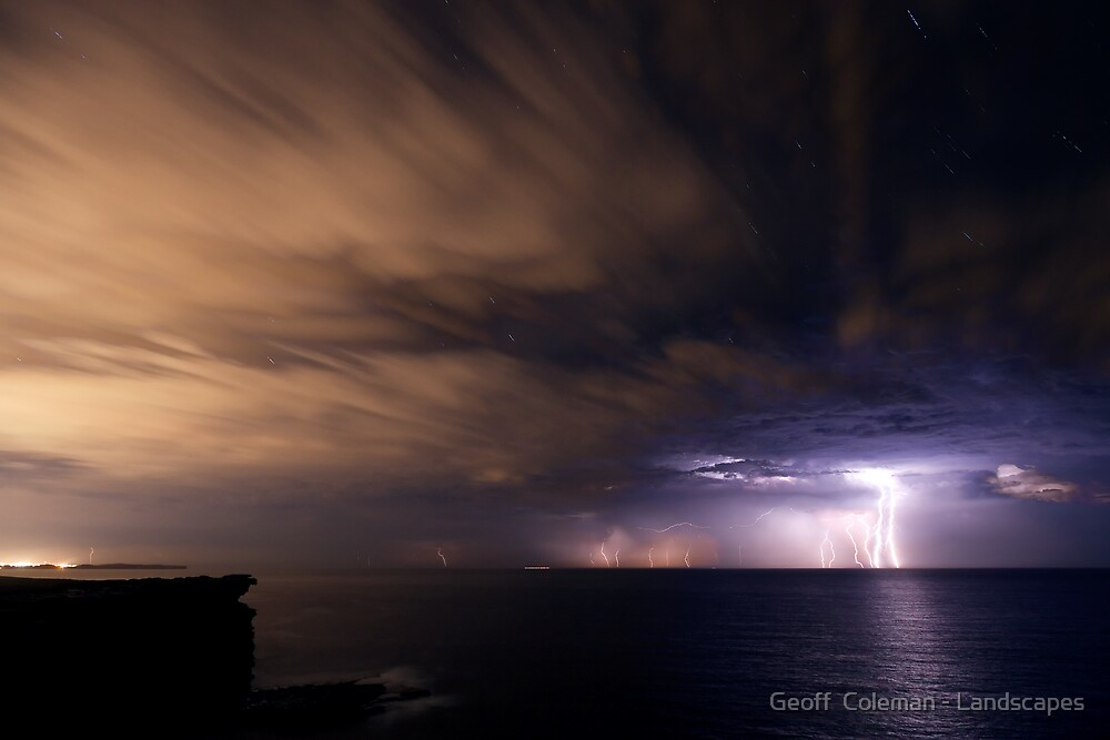 Journeys Through Light and Time by Geoff  Coleman - Landscapes