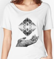 Polytope Women's Relaxed Fit T-Shirt